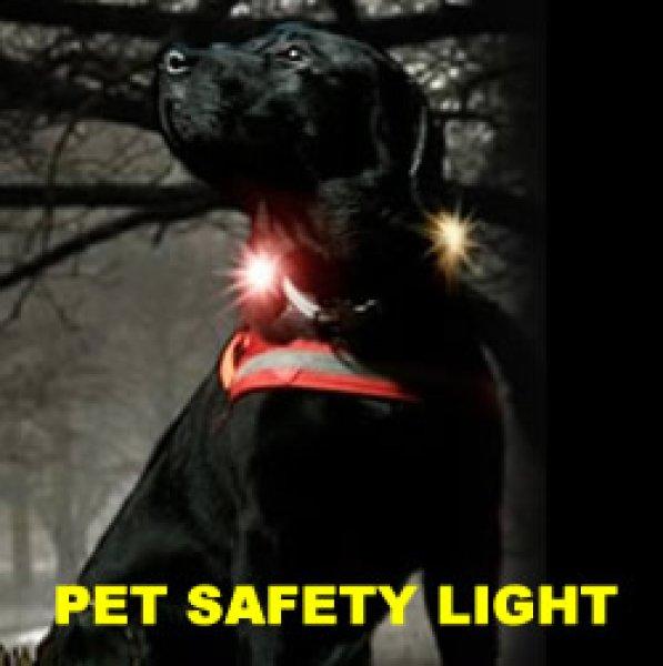画像1: 中・大型犬にも対応するお散歩ライト【Orbilocペットセーフティーライト】 (1)
