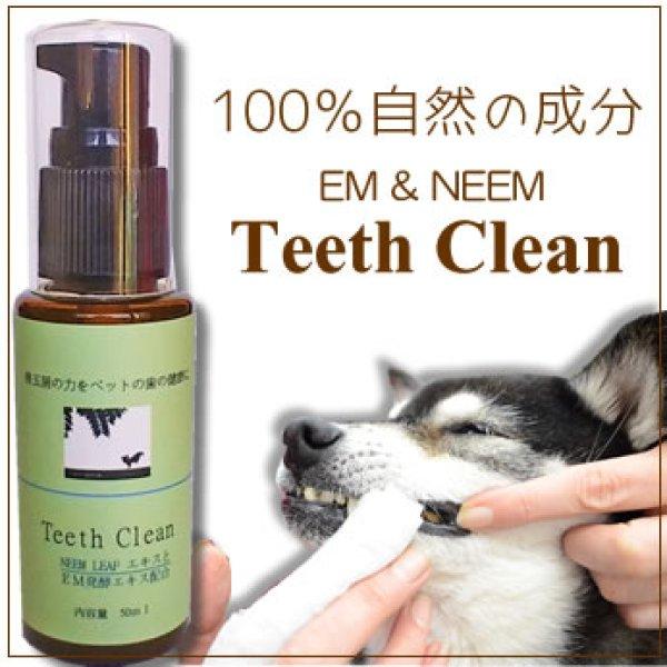 画像1: ペットの歯を口内から健康にする歯磨きが登場【EM & Neem Teeth Clean】50ml (1)