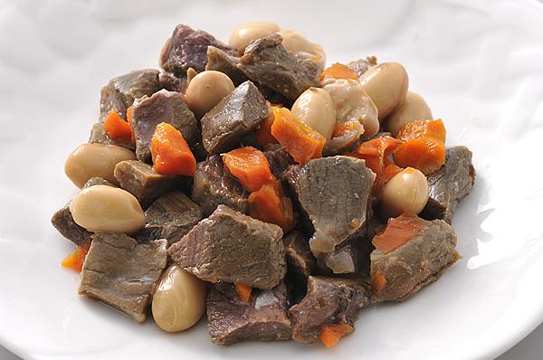 エゾシカ肉とお野菜のわんデリ